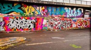 Odborné odstranění graffity
