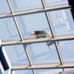 mytí prosklených fasád a vestibulů