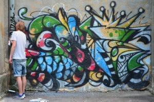 chemické odstraňování graffiti Praha