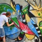 metody odstraňování graffiti