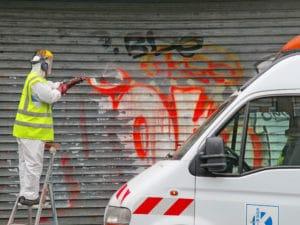 graffit a odstranění