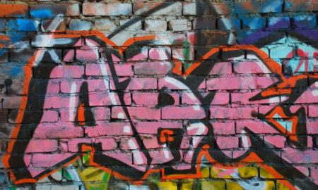 Zlín a vandalské graffiti