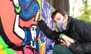 dlouhodobé odstranění grafitů
