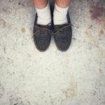 staré nečistoty na podlahe