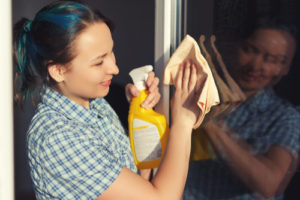 mytí skel