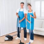 vysávanie podlahy